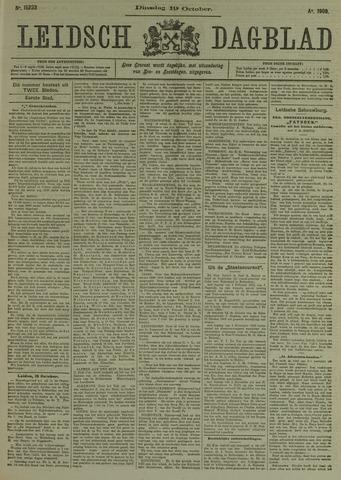 Leidsch Dagblad 1909-10-19