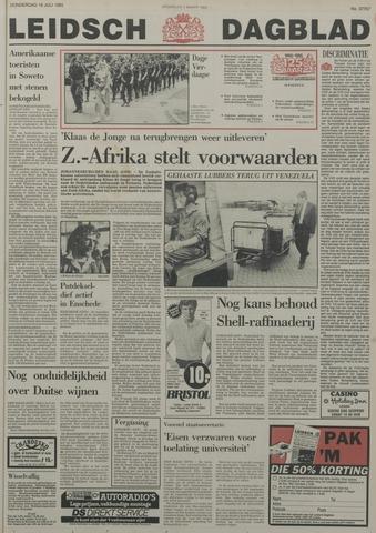 Leidsch Dagblad 1985-07-18