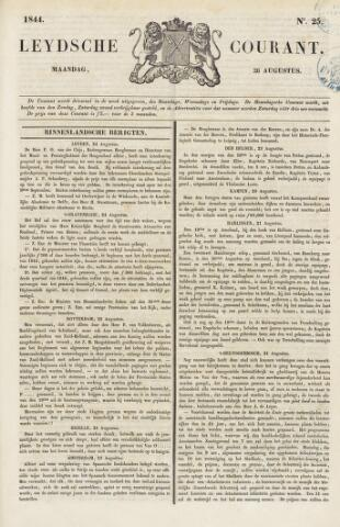 Leydse Courant 1844-08-26