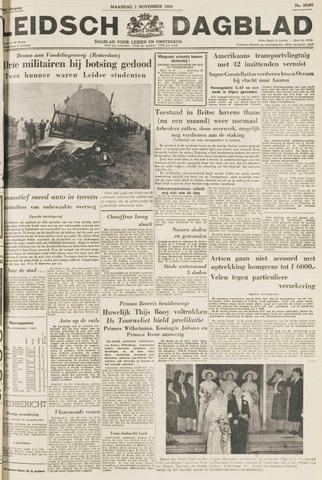 Leidsch Dagblad 1954-11-01