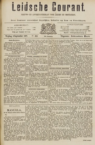 Leydse Courant 1887-09-09