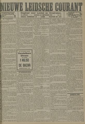 Nieuwe Leidsche Courant 1921-09-20
