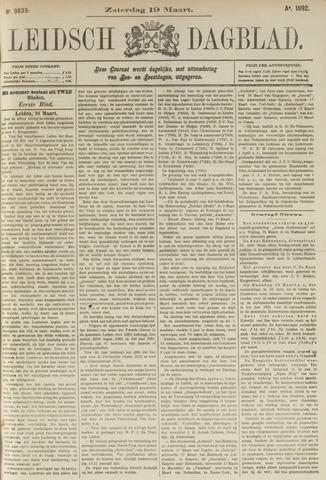 Leidsch Dagblad 1892-03-19
