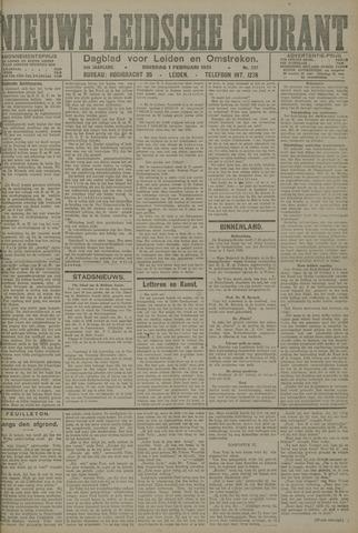 Nieuwe Leidsche Courant 1921-02-01
