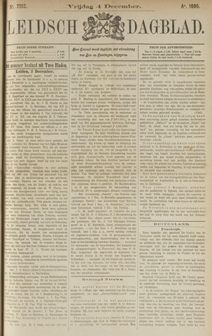 Leidsch Dagblad 1885-12-04