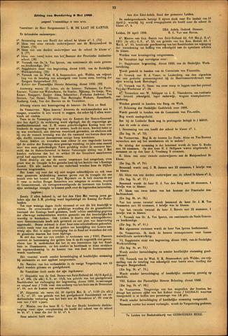 Handelingen van de Raad 1889-05-09