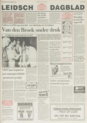 Leidsch Dagblad 1985-10-30