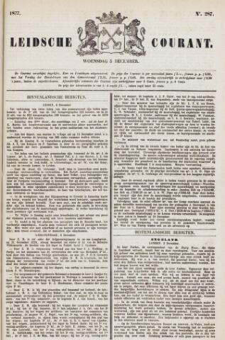 Leydse Courant 1877-12-05