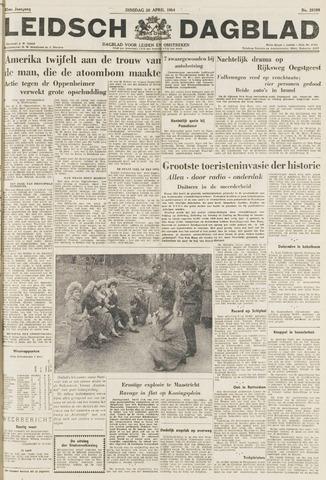 Leidsch Dagblad 1954-04-20