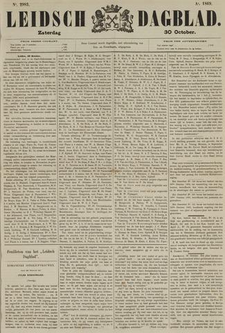 Leidsch Dagblad 1869-10-30
