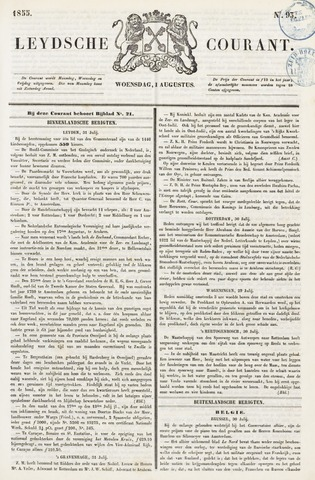 Leydse Courant 1855-08-01