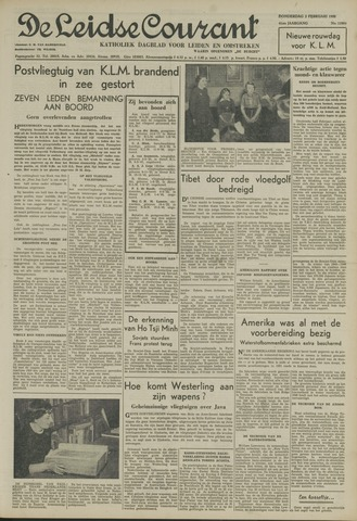 Leidse Courant 1950-02-02