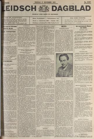 Leidsch Dagblad 1933-11-17