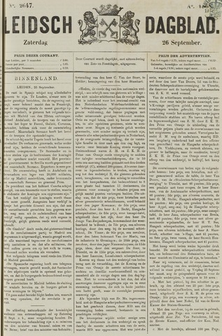 Leidsch Dagblad 1868-09-26