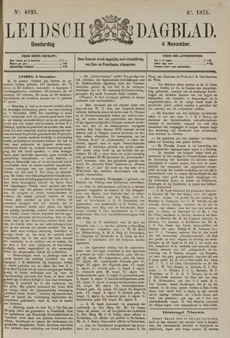 Leidsch Dagblad 1875-11-04