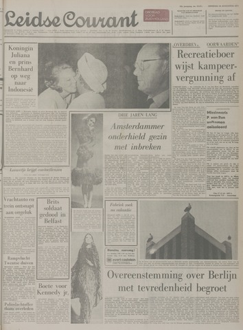 Leidse Courant 1971-08-24