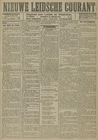 Nieuwe Leidsche Courant 1923-01-27