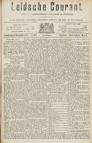 Leydse Courant 1889-11-21