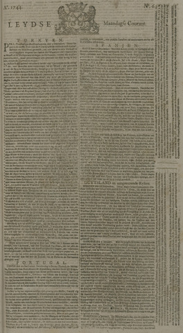 Leydse Courant 1744-01-13