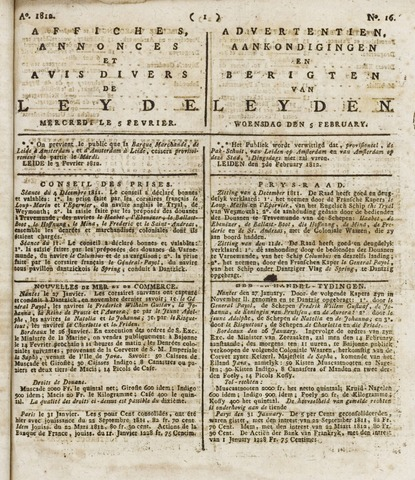 Leydse Courant 1812-02-05
