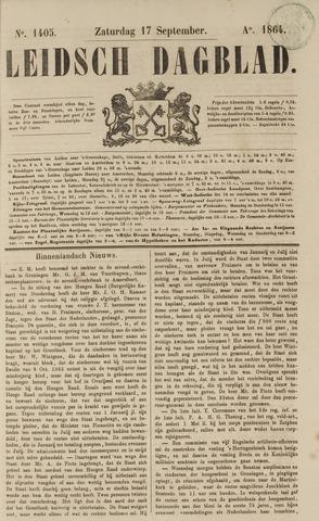 Leidsch Dagblad 1864-09-17