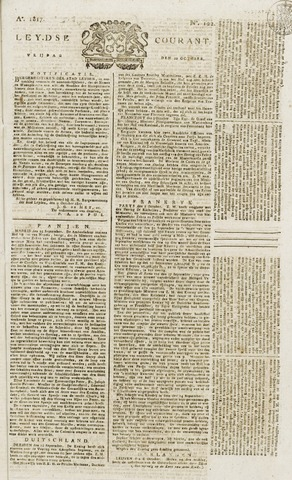 Leydse Courant 1817-10-10