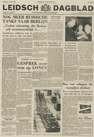 Leidsch Dagblad 1961-10-28