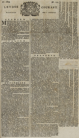 Leydse Courant 1805-08-21