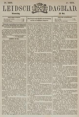 Leidsch Dagblad 1878-05-30