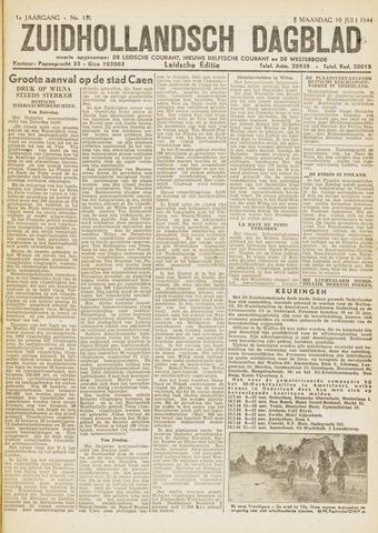 Zuidhollandsch Dagblad 1944-07-10