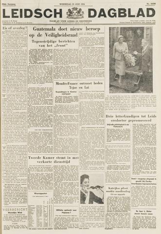 Leidsch Dagblad 1954-06-23
