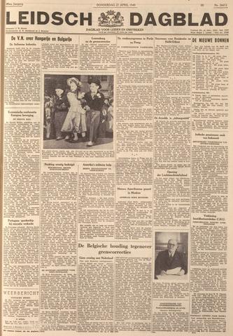 Leidsch Dagblad 1949-04-21