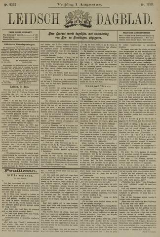 Leidsch Dagblad 1890-08-01