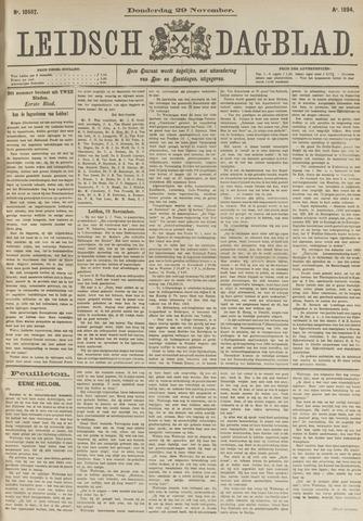 Leidsch Dagblad 1894-11-29