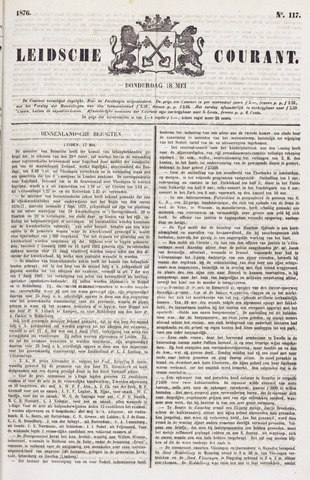 Leydse Courant 1876-05-18