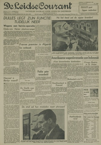 Leidse Courant 1959-02-10