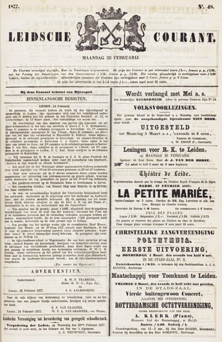 Leydse Courant 1877-02-26