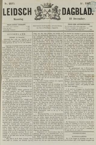 Leidsch Dagblad 1867-12-23
