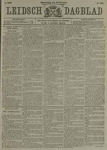 Leidsch Dagblad 1909-02-15