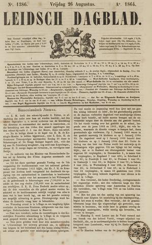 Leidsch Dagblad 1864-08-26