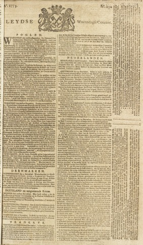 Leydse Courant 1773-12-15