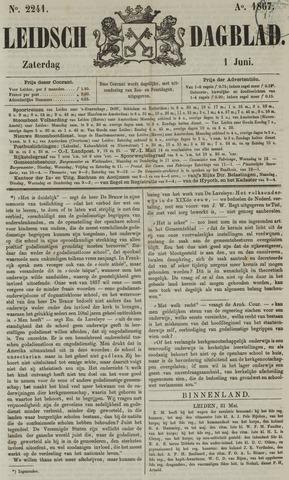 Leidsch Dagblad 1867-06-01
