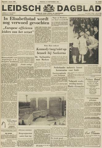 Leidsch Dagblad 1961-09-15