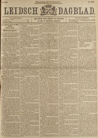 Leidsch Dagblad 1899-02-20