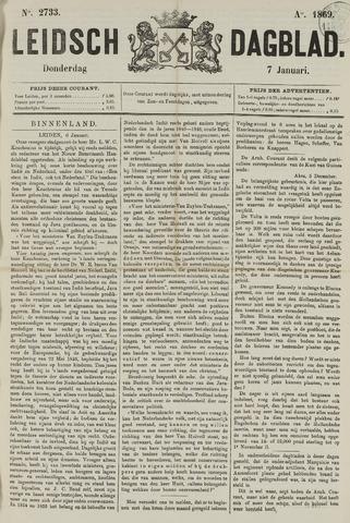 Leidsch Dagblad 1869-01-07