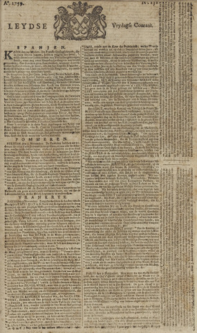 Leydse Courant 1759-11-16
