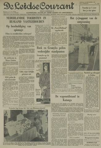 Leidse Courant 1961-09-22
