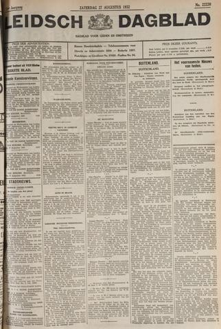 Leidsch Dagblad 1932-08-27