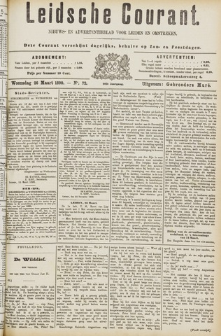 Leydse Courant 1890-03-26