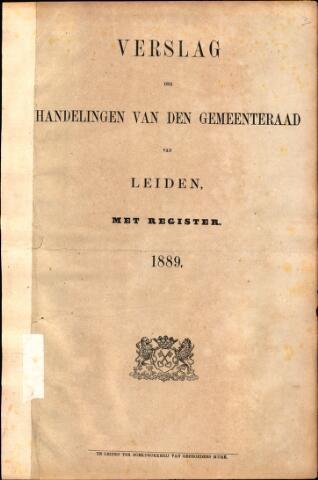 Handelingen van de Raad 1889-01-01